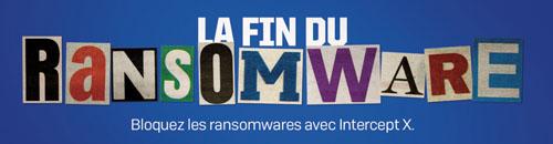 La fin du ransomware