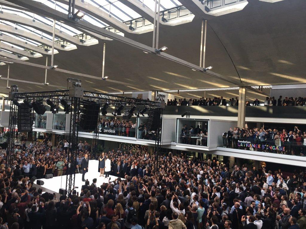 Station F inauguration