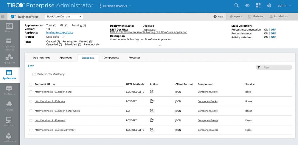 Tous les éditeurs de solutions d'intégration, ici Tibco avec son logiciel Mashery, ont aujourd'hui une offre d'API management à leur catalogue produit.