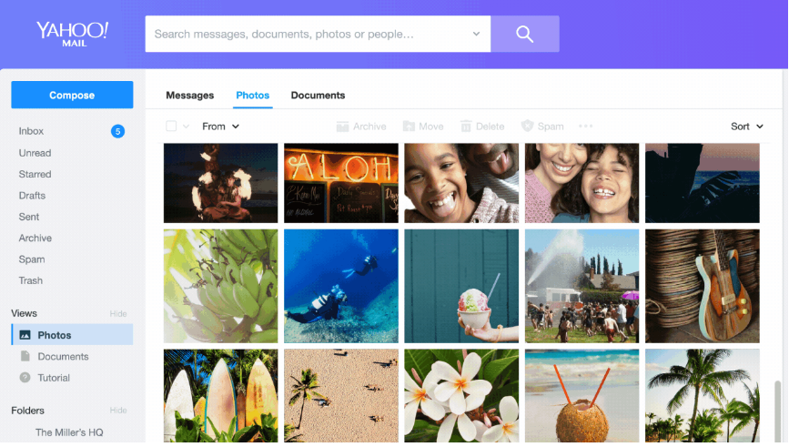 Yahoo! Mail nouvelle version