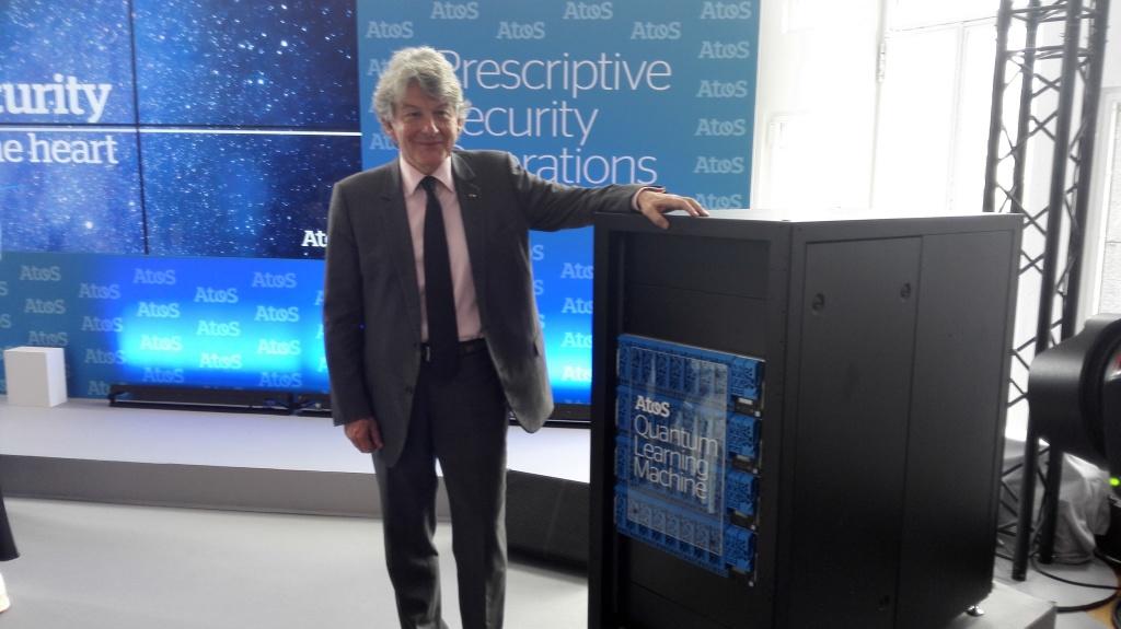 Thierry Breton - Lancement du Quantum Learning Machine