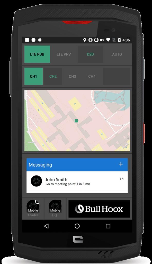 La gamme de smartphones sécurisés Hoox s'enrichit d'un nouveau modèle, destiné aux forces d'intervention.
