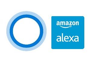 cortana + Alexa