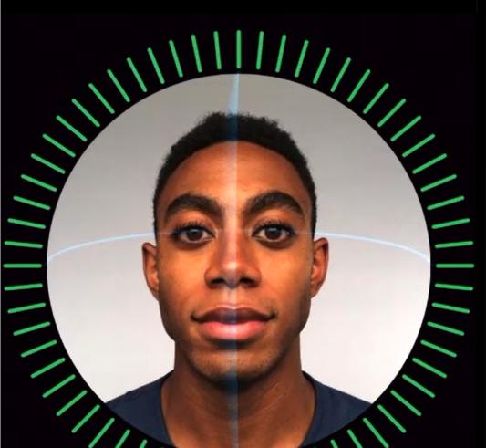 Face ID de l'iPhone X