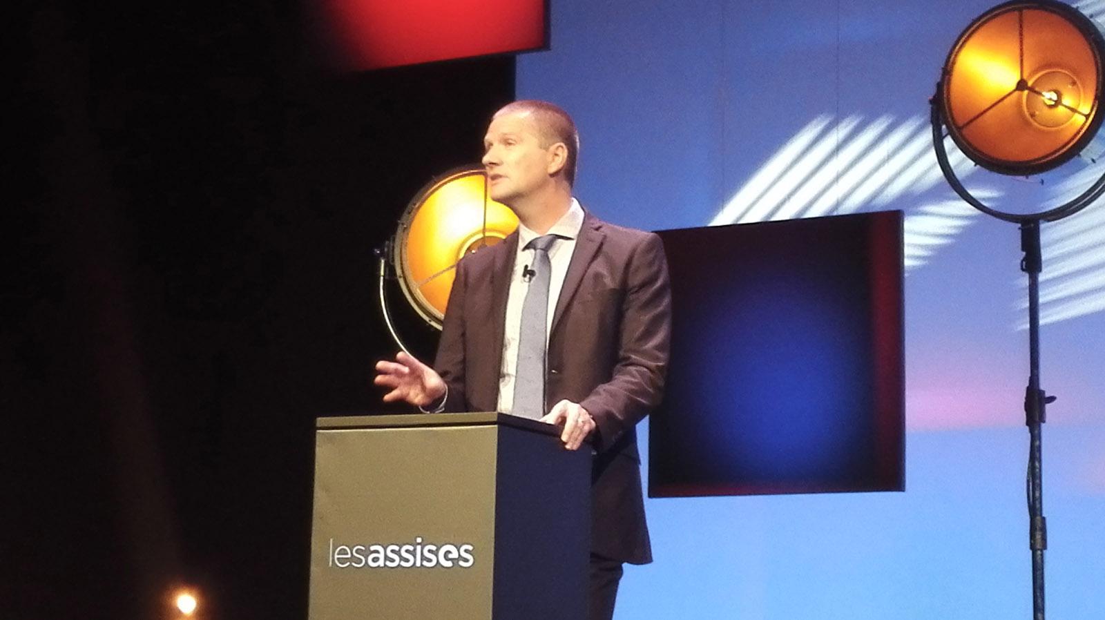 Guillaume Poupard, directeur général de l'ANSSI aux Assises de la Sécurité 2017