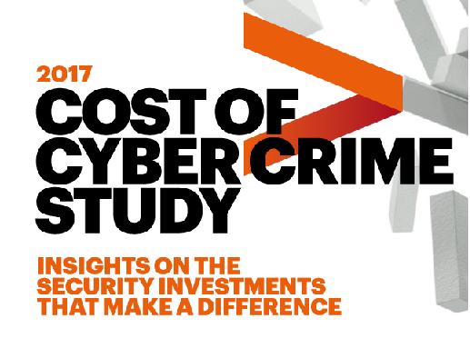 Cost of Cybercrime Stydu 2017