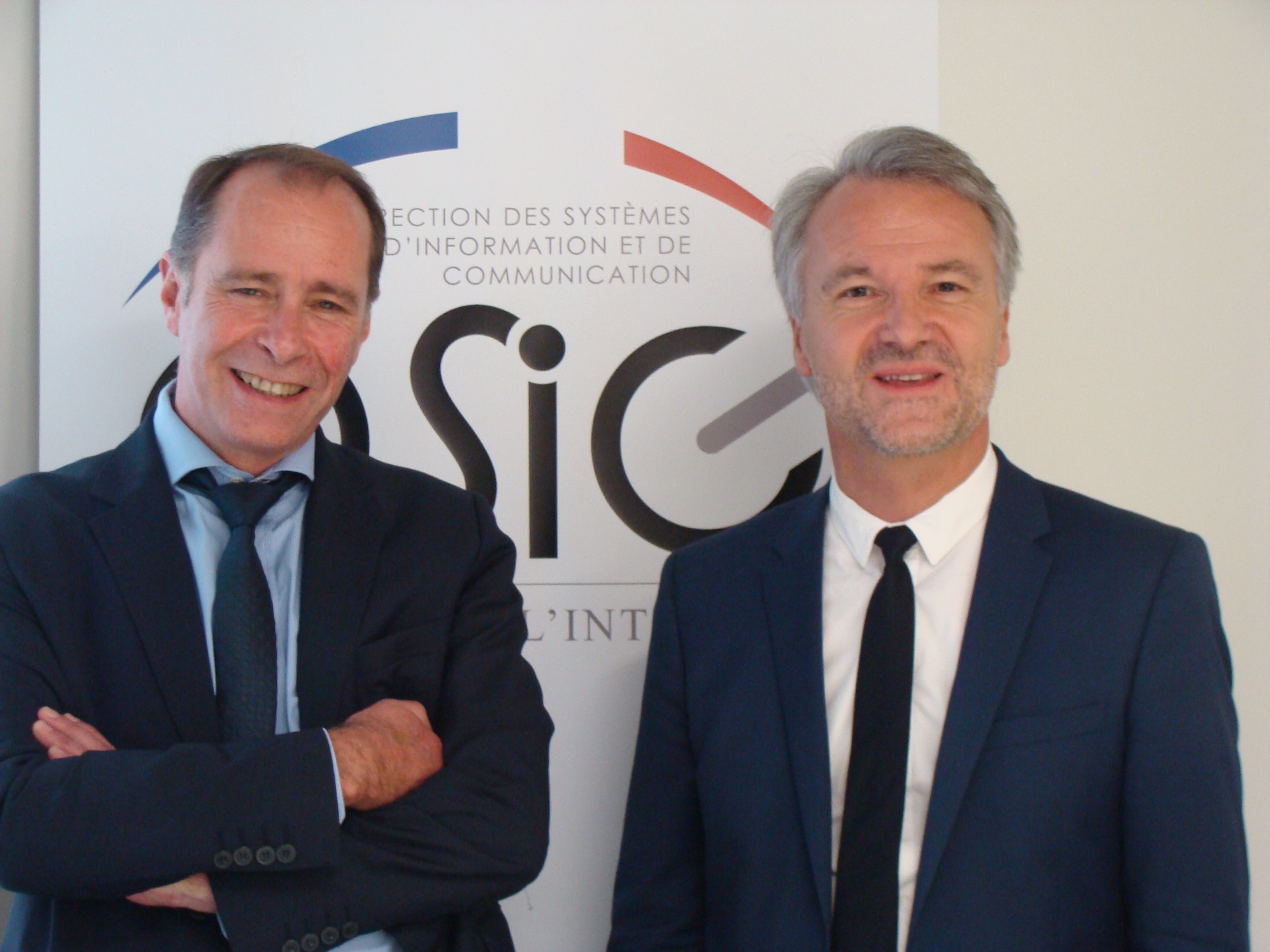 Xavier Poisson et Nicolas Duffour