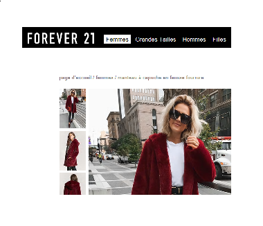 site Forever21