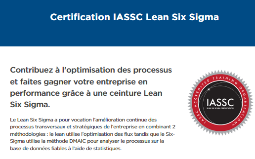 Certification Lean