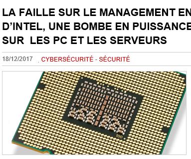 article de Solutions Numériques du 18 décembre 2017