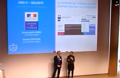 Emmanuelle Dubée, directrice adjointe, et Nicolas Duffour, sous-directeur adjoint