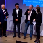 Guy Hermitte, François Veauléger et Daniel Garcin