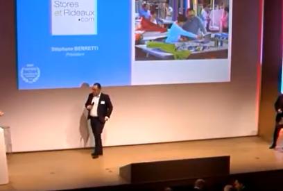 Stéphane Berretti, dirigeant de Store-et-rideaux.co