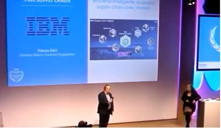 Patrice Dau, directeur Watson Customer Engagement IBM