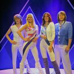 Le groupe pop ABBA