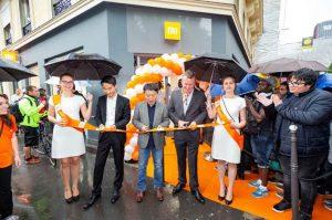 Inauguration Mi Store à Paris