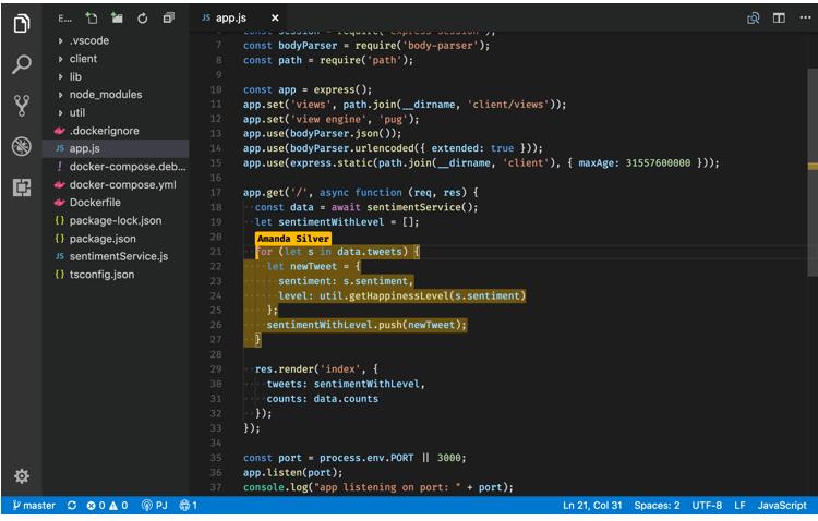 Visual Studio Live Shar