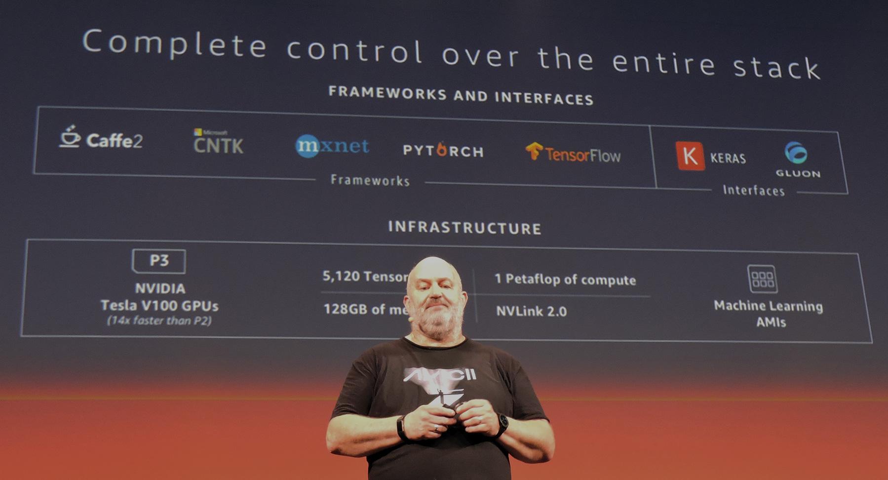 Werner Vogels, le CTO d'Amazon Web Service