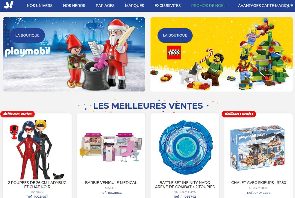 Site Jouéclub