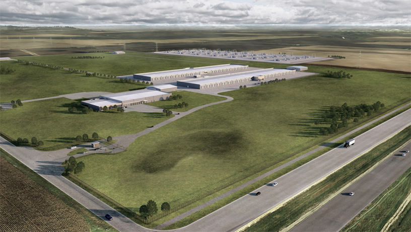 datacenter Apple dans l'Iowa