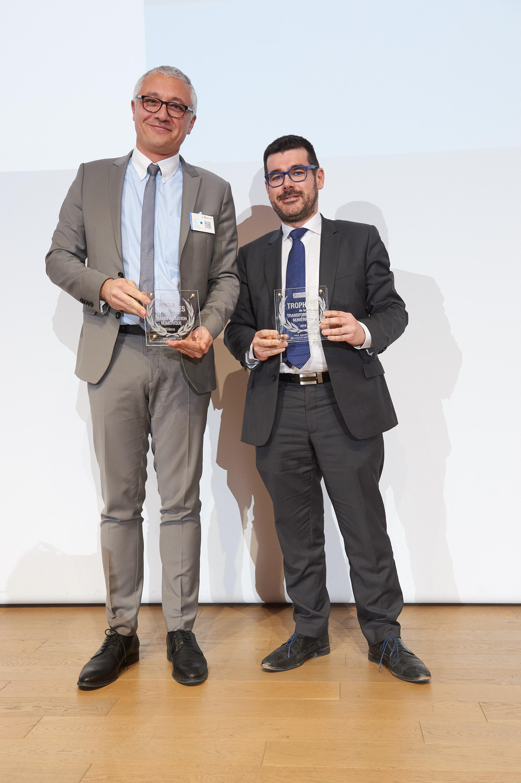 Alain Turby et Jean-Noël Olivier