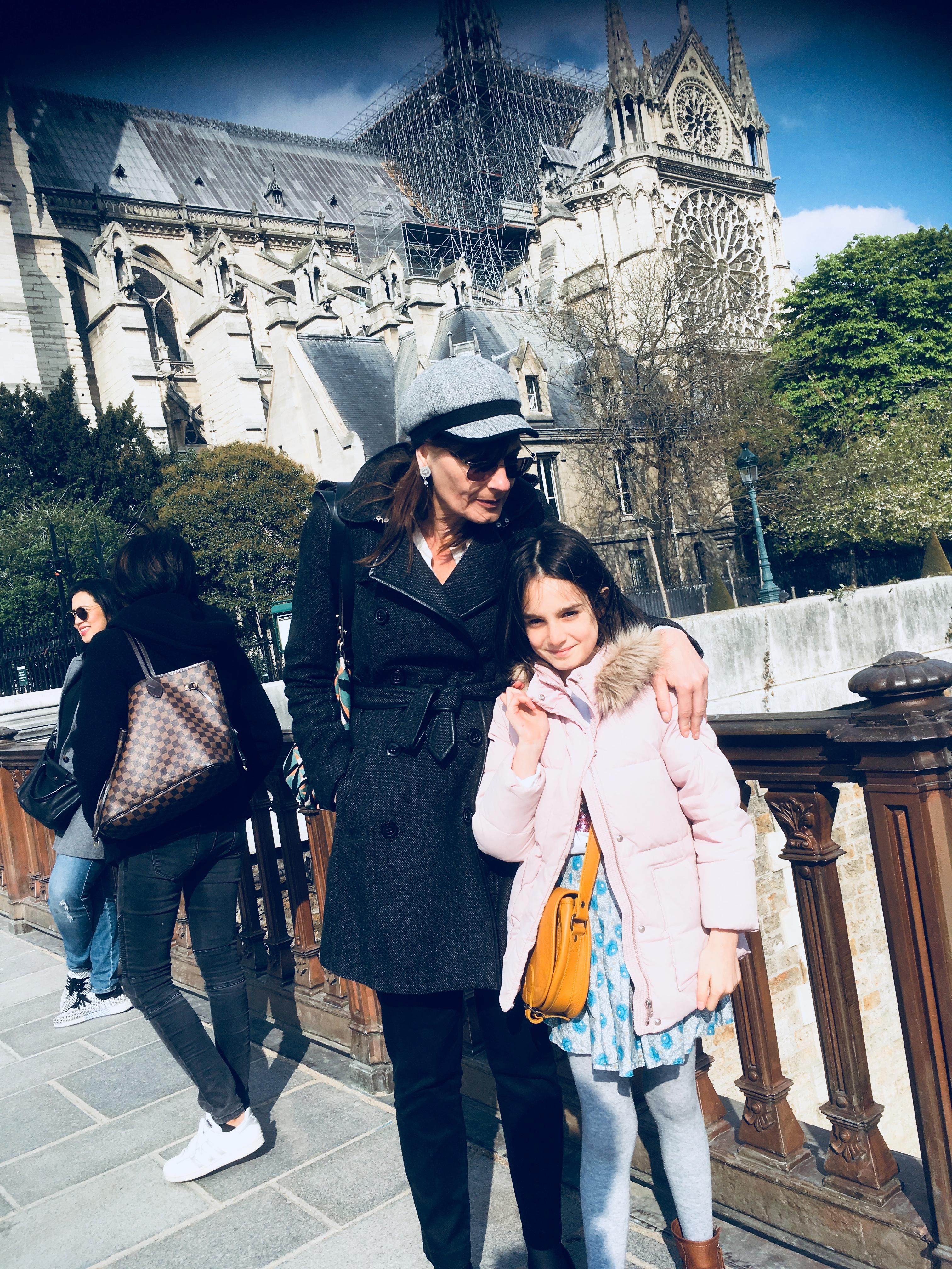 Notre-Dame de Paris le 14 avril