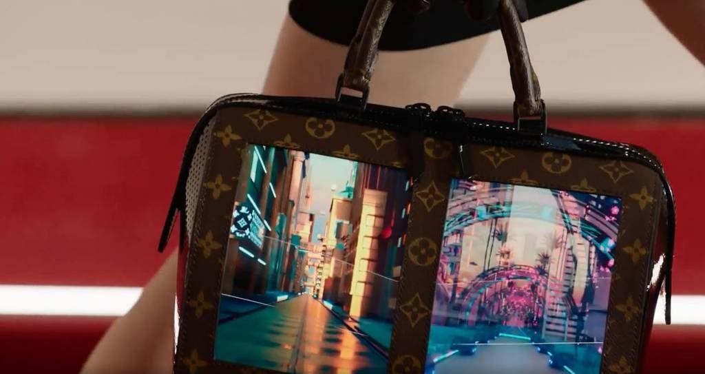 sac à main à écran Louis Vuitton