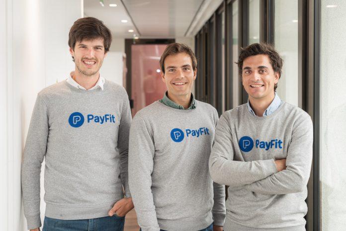 Les 3 cofondateurs de Payfit