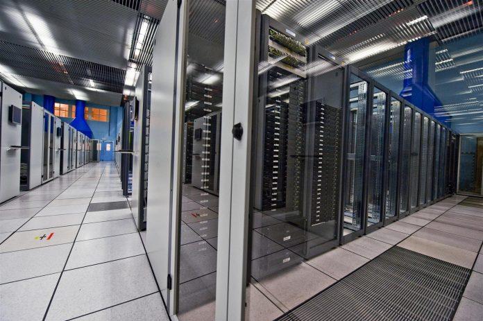 La salle de serveurs du CERN.