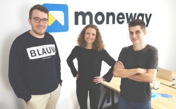 Les 3 co-fondateurs de Moneway