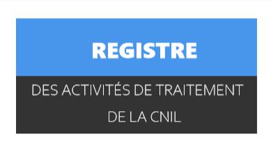 registre des traitements de la Cnil