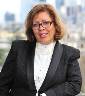 Nacira Salvan, fondatrice et présidente du CEFCYS