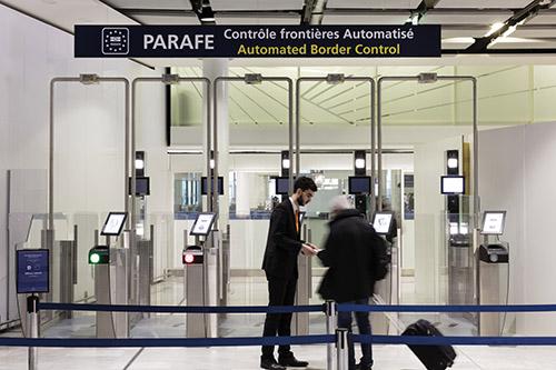 Sas PARAFE Terminaux 2A-2C de Paris-CdG