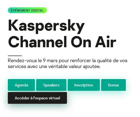 Kaspersky Channel On Air