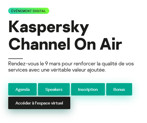 Kaspersky Channel On Air